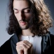 Personification of Jesus Christ - Stock Photo