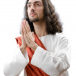Jesus Christ personifacation isolated on the white — Stock Photo #9470339