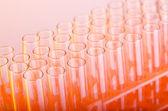 実験室で化学のガラス管 — ストック写真