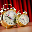 Time concept with alarm clock — Stok fotoğraf