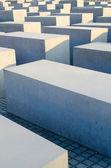 Památník holocaustu v berlíně — Stock fotografie