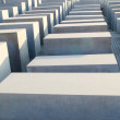 Holocaust memorial in Berlin - 图库照片