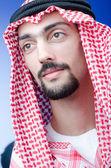 Retrato de joven árabe — Foto de Stock