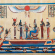 Egyptian history concept with papyrus — Stock Photo #9815787