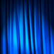Brightly lit curtains in theatre concept — Stock Photo #9816203