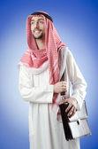 Arab businessman in studio shooting — Stock Photo