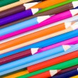 Color pencils background - Stock Photo