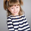 Stock Photo: Portrait of small smiling girl