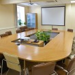 Business meeting room in office — Stock Photo #8385004