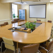 Stock Photo: Business meeting room in office
