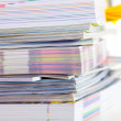 A stack of magazines — Stock Photo #8385082