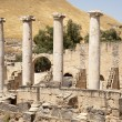 Ancient ruins in Beit Shean — Stock Photo #10616987