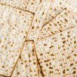 Matza bread for passover celebration — Stock Photo #8806360