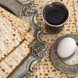 Matzbread for passover celebration — Stock Photo #8806407
