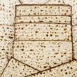 Matza bread for passover celebration — Stock Photo #9115173
