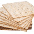 Matza bread for passover celebration — Stock Photo #9115346