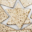 Matza bread for passover celebration — Stock Photo #9115606