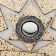 Matza bread for passover celebration — Stock Photo #9115649