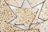 Matza bread for passover celebration — Zdjęcie stockowe