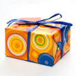 Stockfoto: Wrapped present