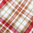 Stock Photo: Red table cloth background