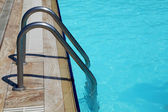 Staircase in the swimming pool — ストック写真