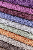 Carpets of different colours — Stock Photo