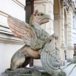 Sculpture of the mythical bird — Stock Photo