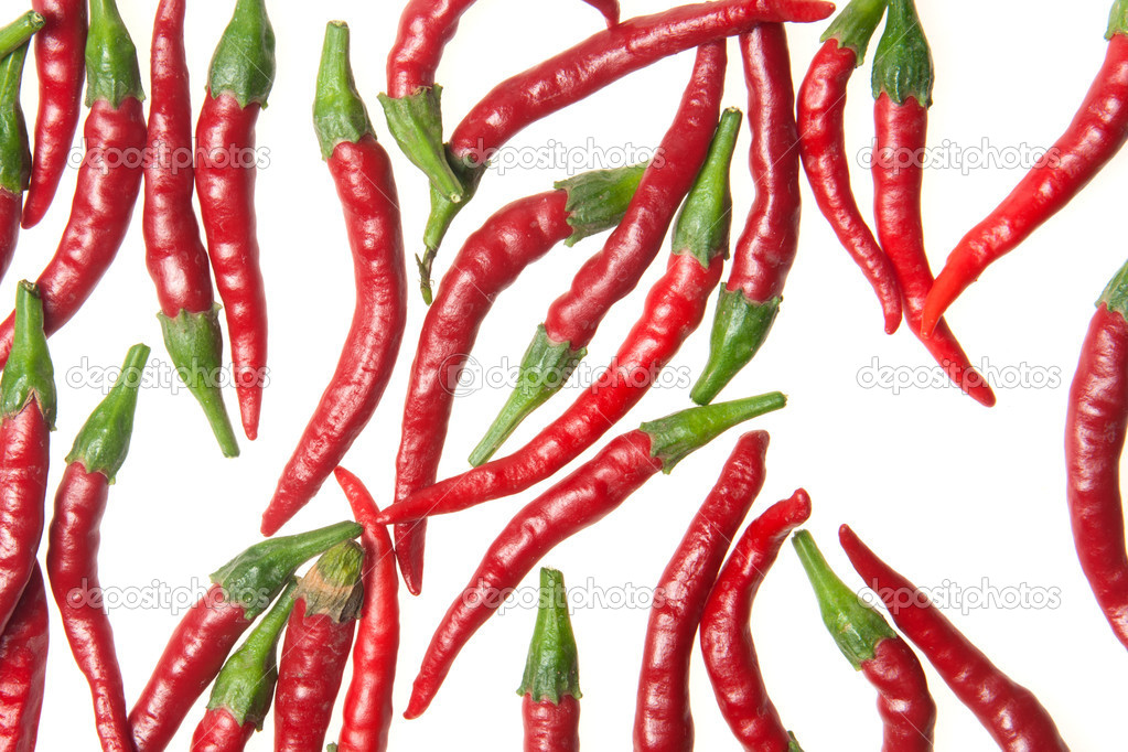 Red hot chilli peppers — Stock Photo #8757396