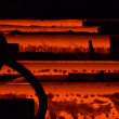 Steel factory — Stock Photo