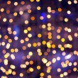 Christmas bokeh — Stock Photo