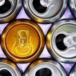 Cans — Stock Photo