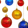 Stock Photo: christmas balls