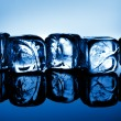 Ice cubes — Stockfoto