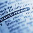 Foto Stock: Word business