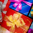 Colorful presents - Stock Photo