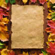 Autumn background — Stock Photo #9549913