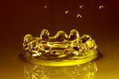 Amber water — Stock Photo