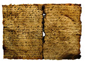 Ancient Manuscript — Stock Photo
