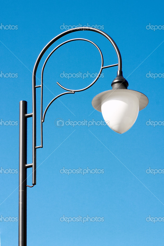 Lamp post — Stock Photo #9547162