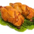 Roast Chicken - Stock Photo