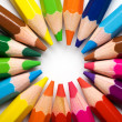 colored pencils — Stock Photo #9550409