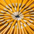 Pencils background - Stock Photo