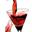 röd martini — Stockfoto