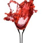 Roter martini — Stockfoto