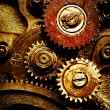 Royalty-Free Stock Photo: Gears from old mechanism