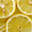 Lemon background - Stock Photo