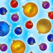 Christmas balls — Stock Photo #9552263