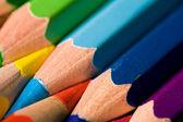 Pencils background — Stock Photo