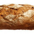 Long loaf isolated on white background — Stock Photo